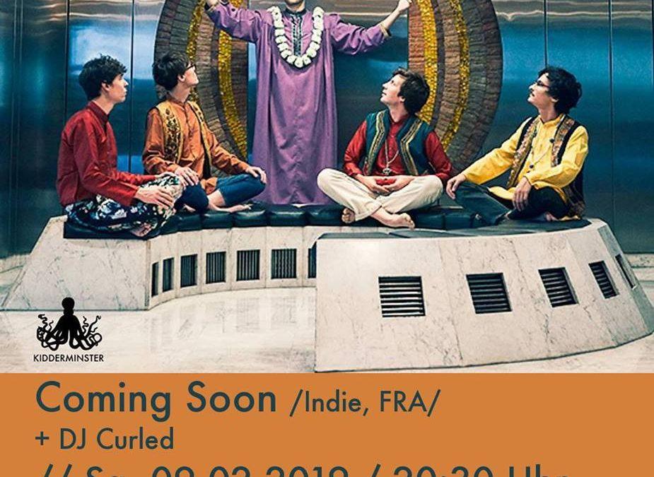 Bebop Konzert // Coming Soon (Indie, Paris)