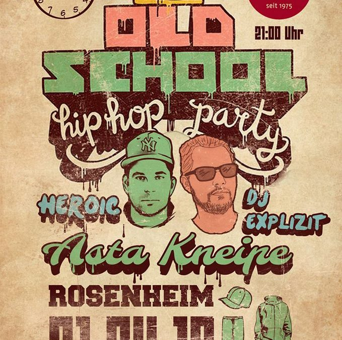 1st Oldschool HipHop Party – Dj Explizit