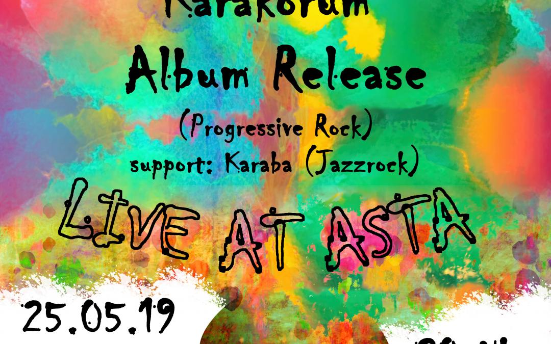 Freak Convention Vol. II (Karakorum – LIVE, support: Karaba)
