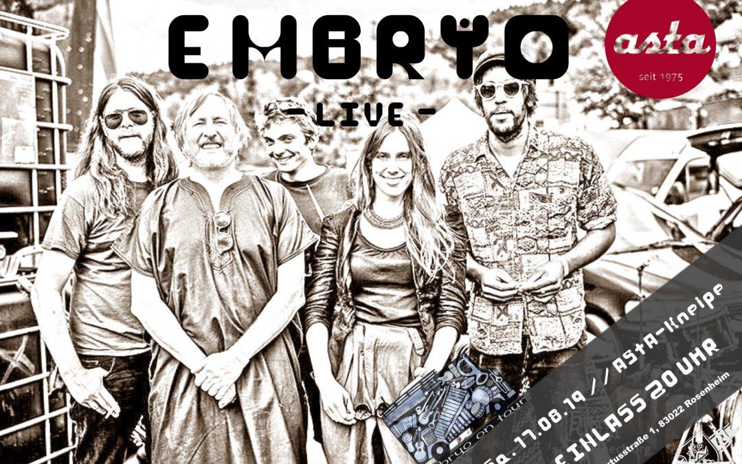 Embryo – LIVE