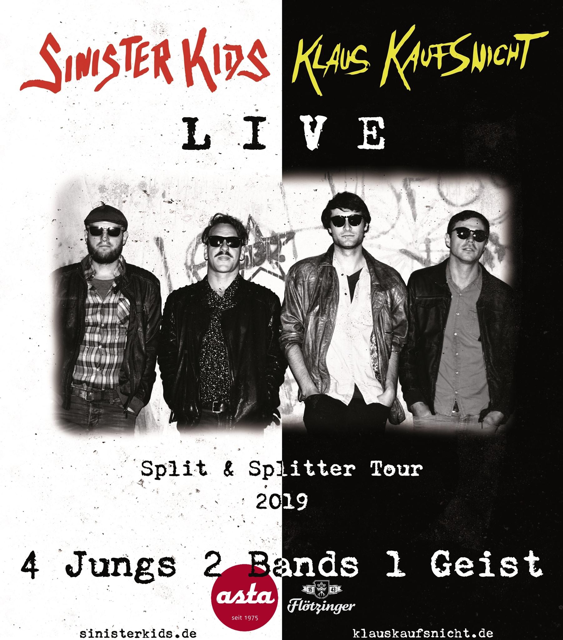 Sinister Kids – LIVE