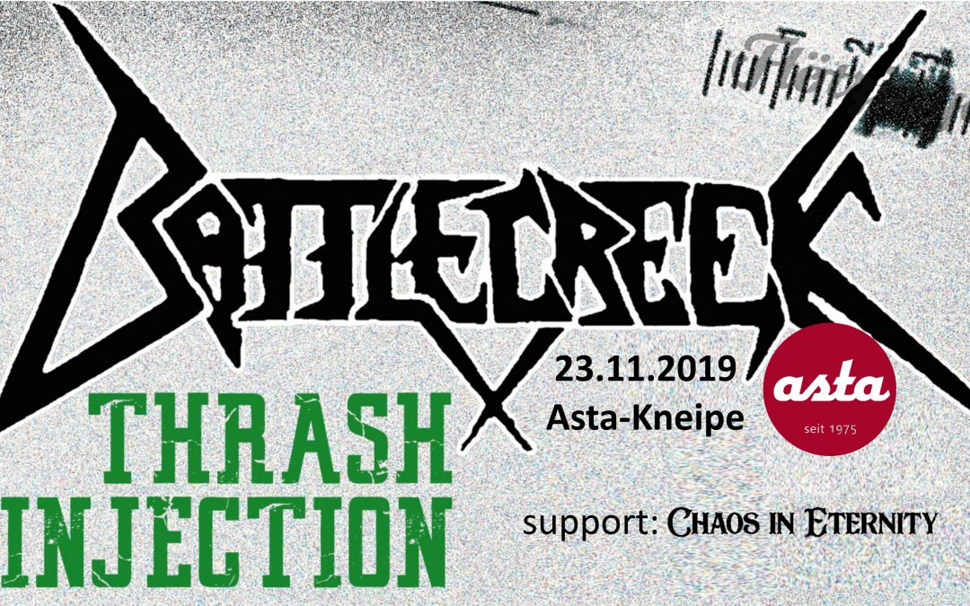 Battlecreek – LIVE (support: Chaos in Eternity)