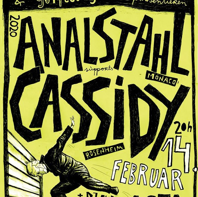 Bebop Konzert // Analstahl // Cassidy