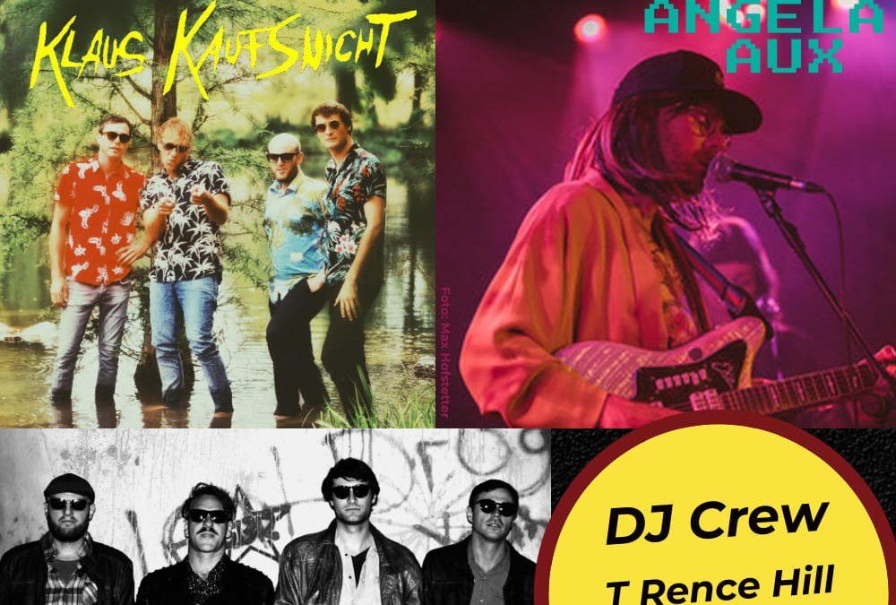 Radio BUH Party//Angela Aux/Sinister Kids/Klaus Kaufsnicht
