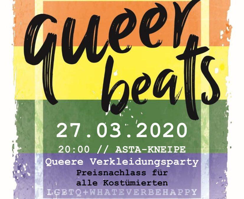 Abgesagt: Queerbeats Kostümparty