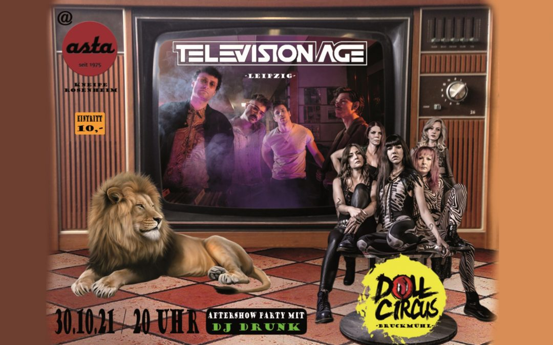 Television Age & Doll Circus – LIVE