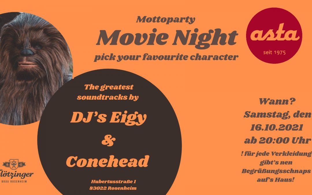 Movie Night // Motto-Party @Asta